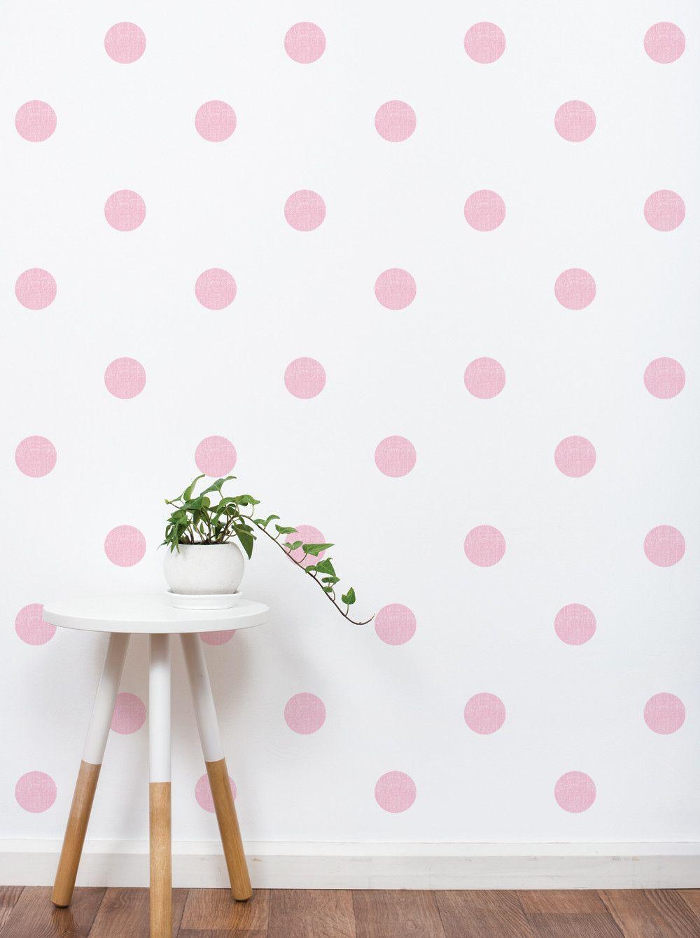 Textured dots wall sticker 3 inch polka dots wall stickers
