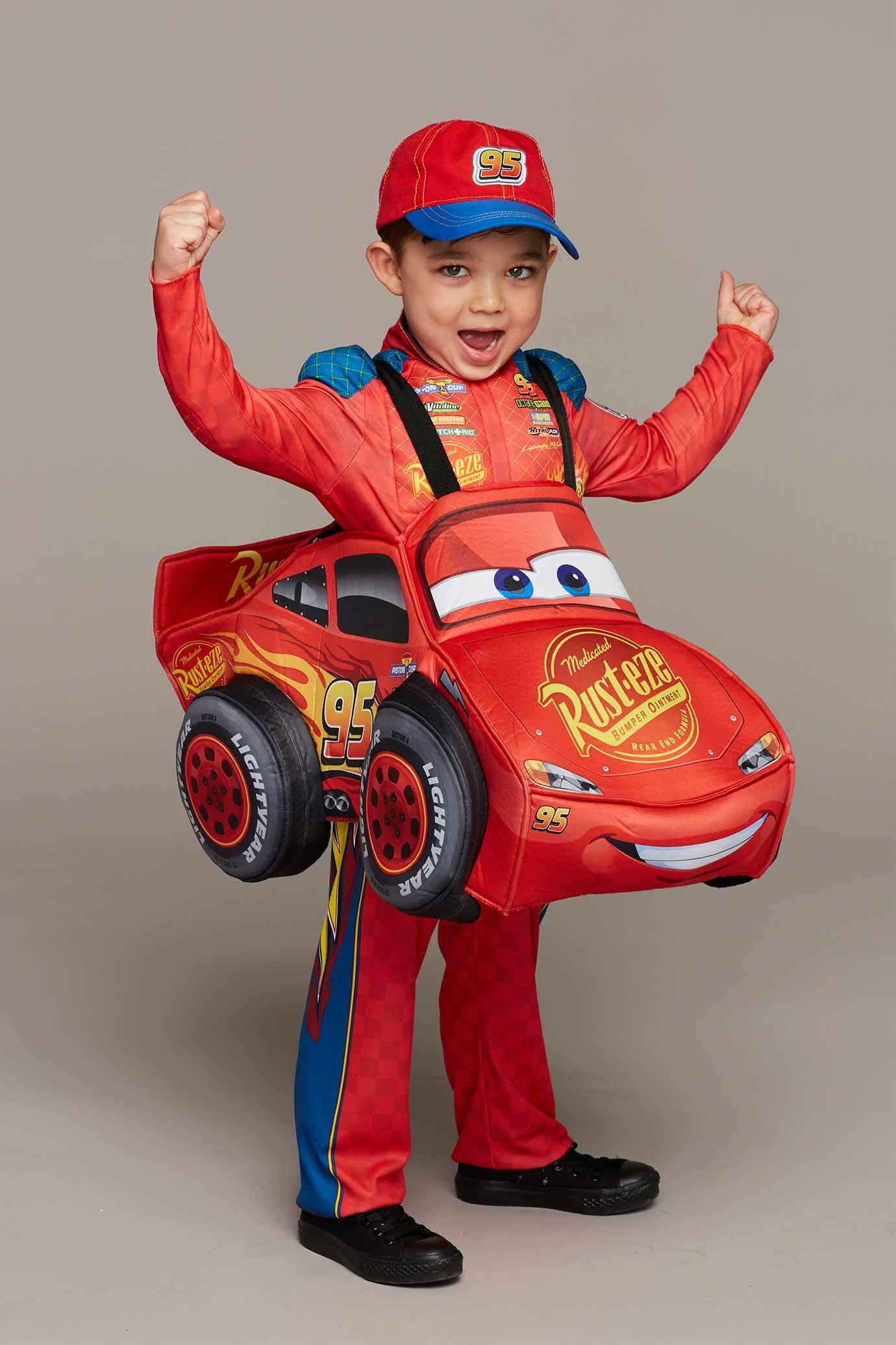 Cars 3 Lightning McQueen Costume for Kids #Chasingfireflies $89.00  sc 1 st  Pinterest & Cars 3 Lightning McQueen Costume for Kids: #Chasingfireflies $89.00 ...