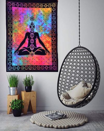 Find your zen space either in your home, classroom, or backyard studio to immerse yourself in your yoga practices with these 107 yoga room ideas. Be inspired to bring your own space together, whether indoor or outdoor, to allow for rest, relaxation, and a meditation corner to find your center both physically and mentally. Peace and health are your decor ingredients to discover or DIY create a place to call your own. #bettermindbodysoul #namaste #yogaroomdecor #peacefulyoga #yogaforbalance