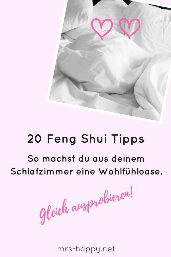 20 Feng Shui Tipps für dich - so machst du aus deinem Schlafzimmer