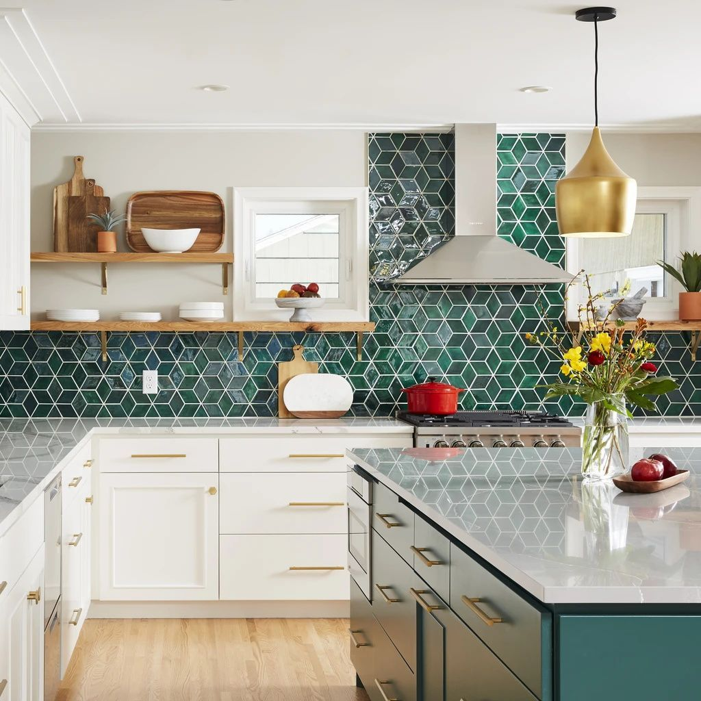 Green With Envy - Green & Gold Interiors