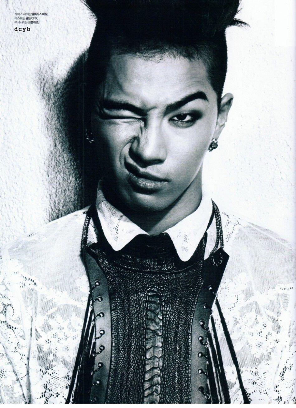 Big Bang's Taeyang Graces Cover of L' Officiel Hommes Magazine [PHOTOS]