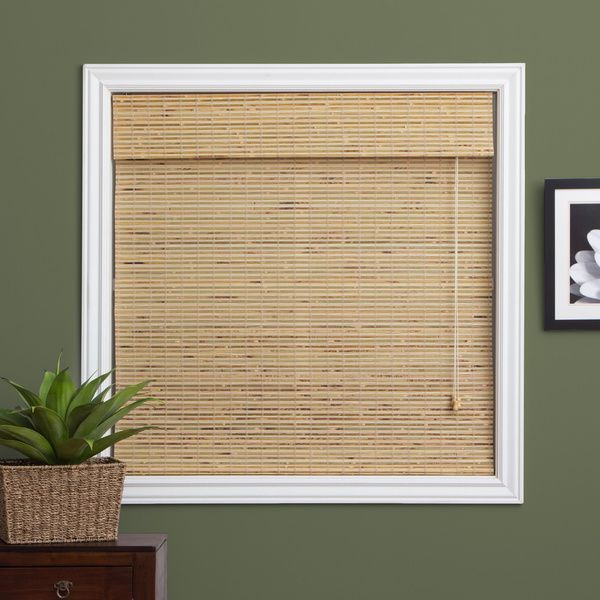 Kitchen Bay Window Petite Rustique Bamboo 54 Inch Long