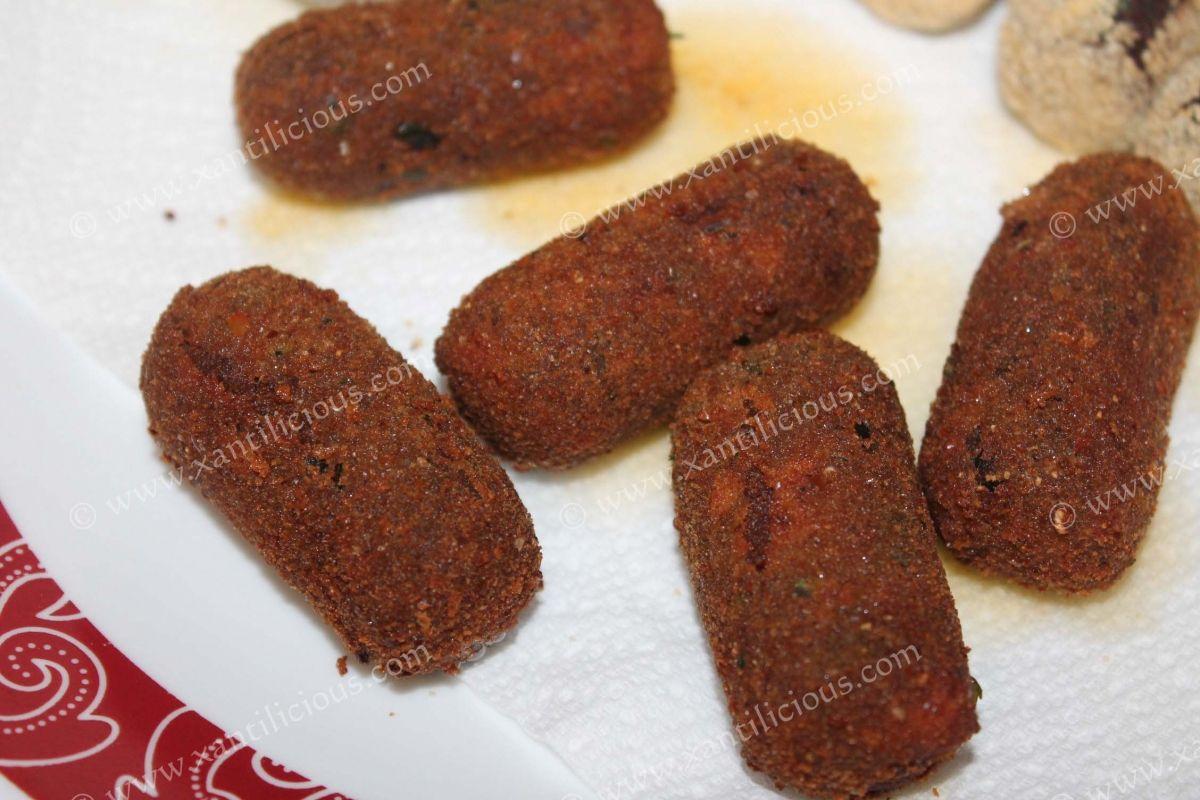 Goan Beef Croquettes Recipe Savoury Cake Goan Recipes Croquettes