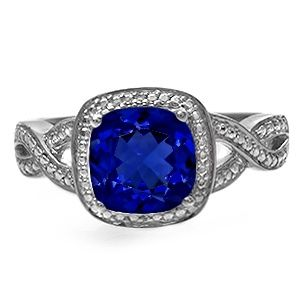 One of the rings on my birthday list. I've always loved that Sapphire is my birthstone and dreamed of having a ring with it. I might actually get one this year!! This one's my favorite. Jared - Color Stone Ring