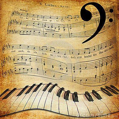 Background Music Piano Sheet Music Stock Image Image 37177761 Sheet Music Art Sheet Music Music Notes Background