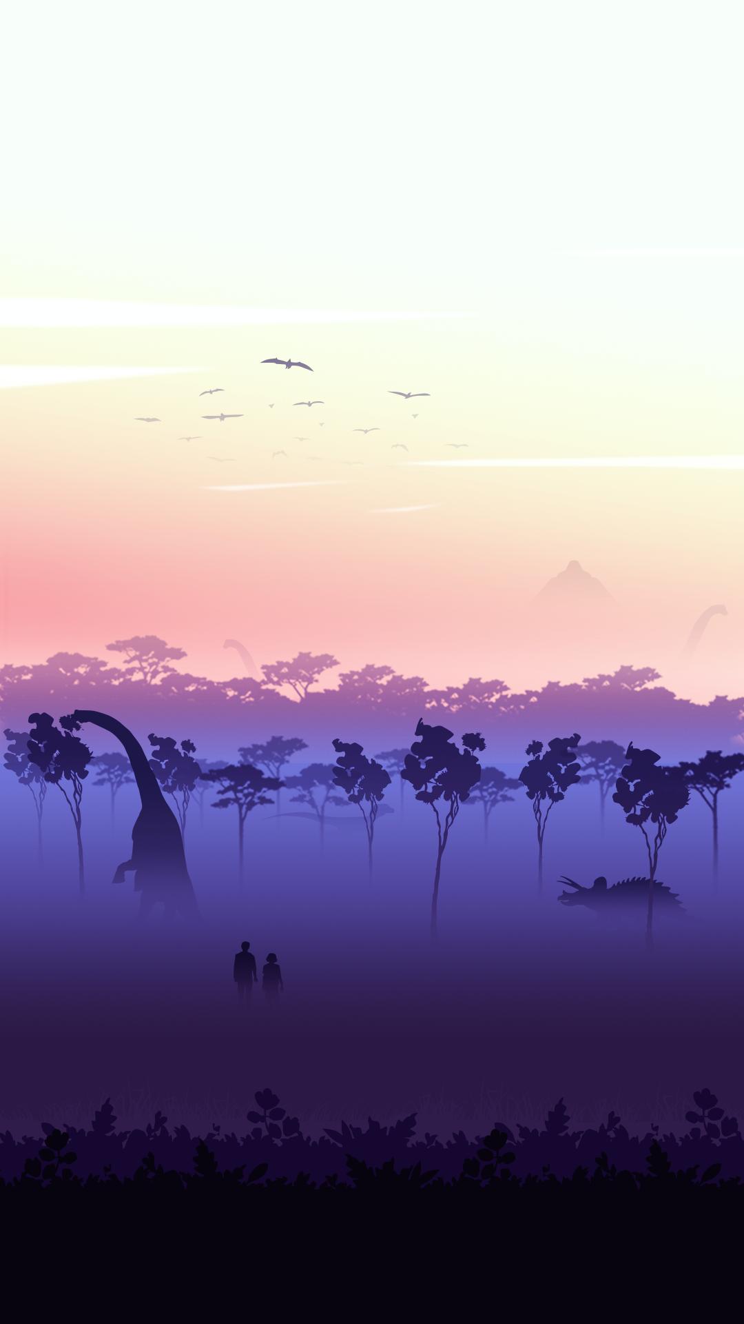 1080 jurassicworld Jurassic world wallpaper, Landscape
