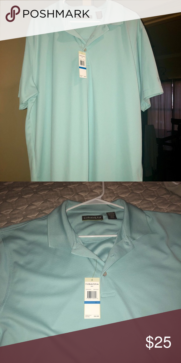 99b183f44 Cubavera Polo T-Shirt Size: XL New. Never been worn with price tag. Perfect  condition. No imperfections. Cubavera Shirts Polos