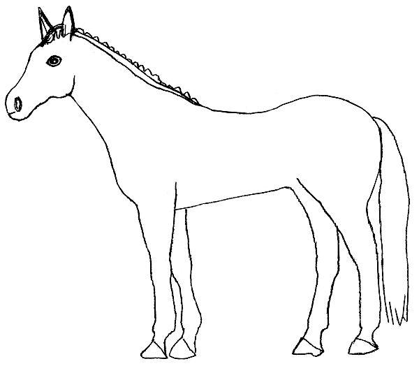 18 schoene ausmalbilder, 18-schoene-ausmalbilder-pferd-dekoking-com | ausmalbilder + vorlagen, Design ideen