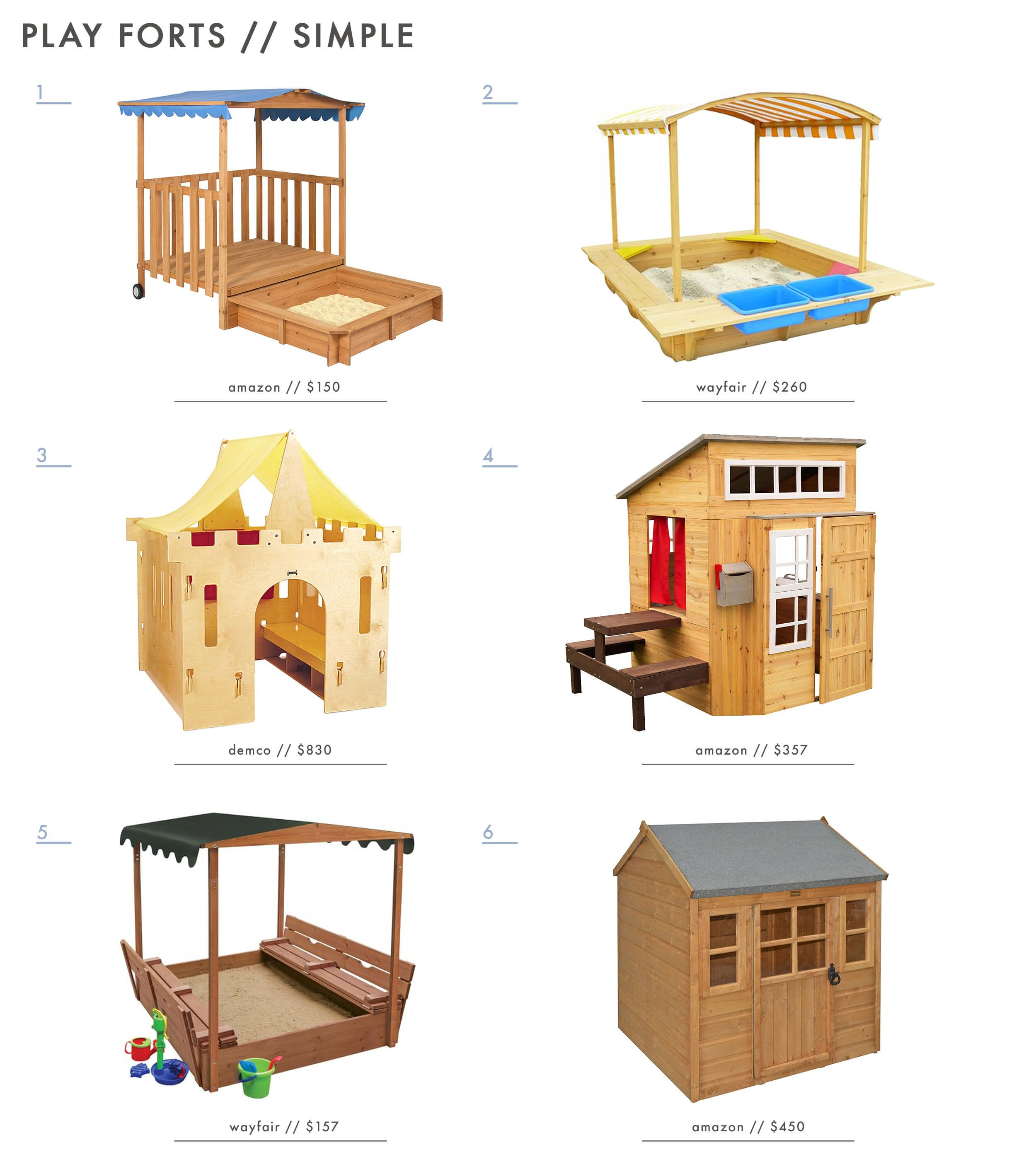 Building Our Backyard Castle with Wood Naturally + Fort ...
