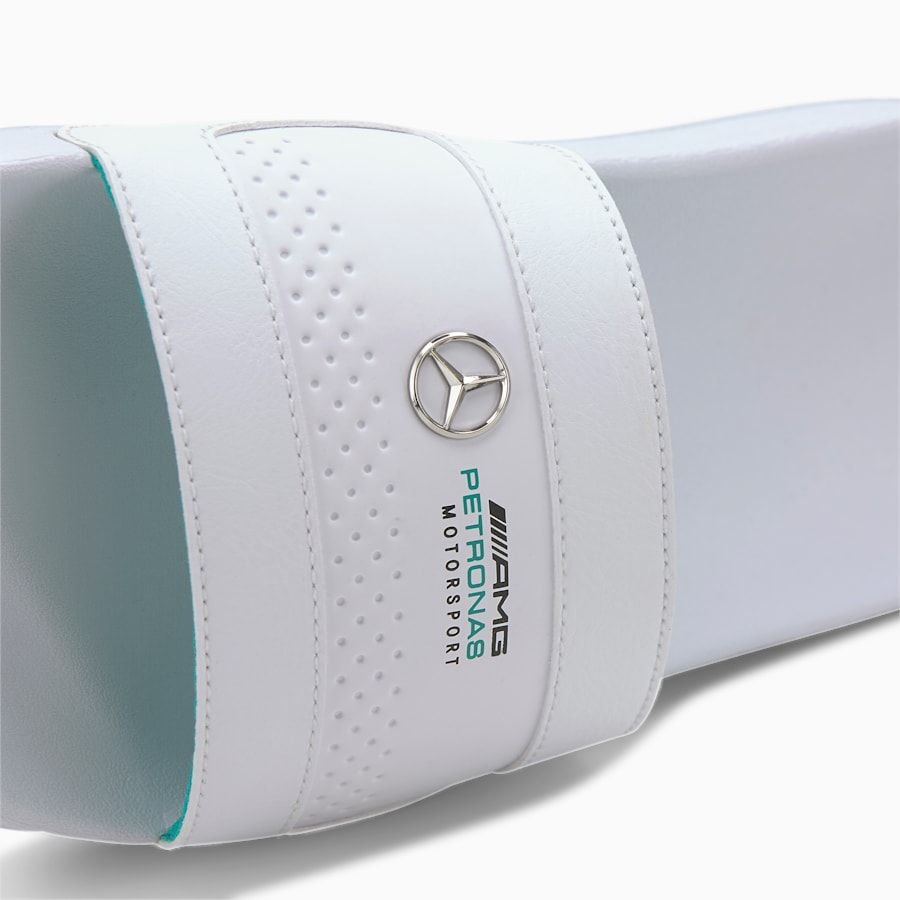 PUMA Mercedes Leadcat Sandals in White