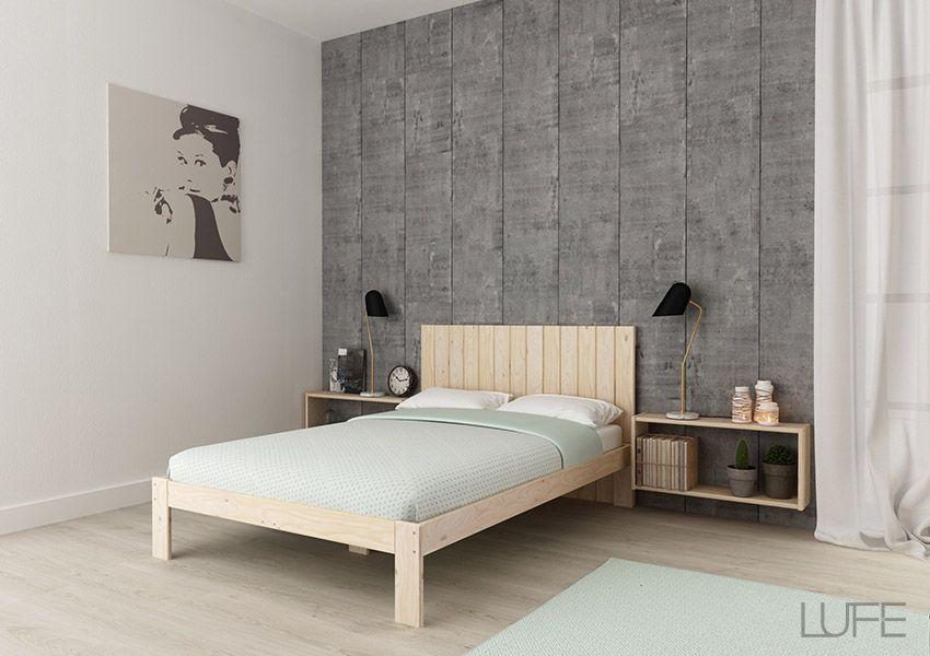 TESTA Cabecero 9V cama individual | Cabecero, Camas individuales y ...