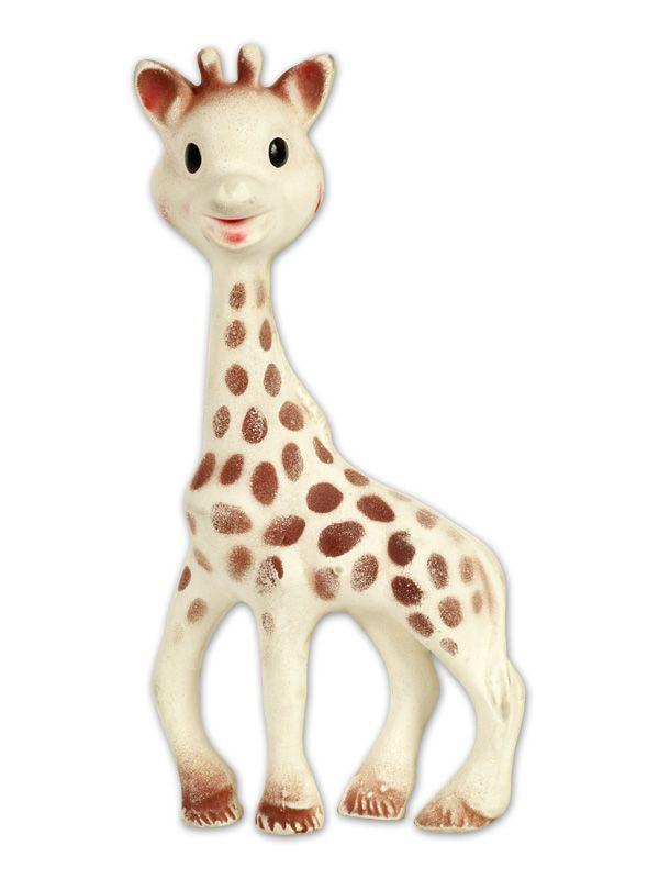 Vulli, Frankrijk, 1961 Pierre Brault, speelgoeddesigner bij Delacoste, is de ontwerper van Sophie, de kleine giraf. Ze dankt haar naam aan de datum van haar officiële inwijding, 25 mei 1961, de feestd