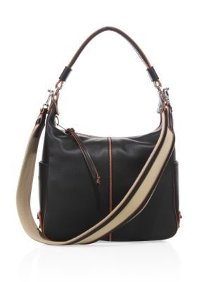 d6fde1f537 TOD'S Miky Small Leather Hobo Bag. #tods #bags #canvas #leather #lining  #shoulder bags #hand bags #hobo #