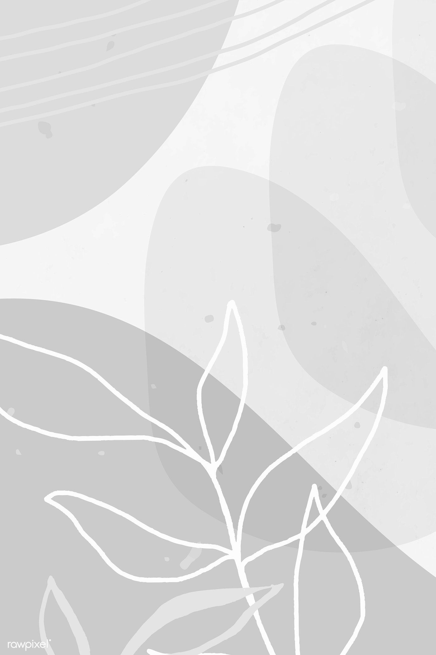 Download Premium Vector Of Abstract White Tone Memphis Social Background Iphone Background Wallpaper Abstract Wallpaper Design Flower Background Wallpaper
