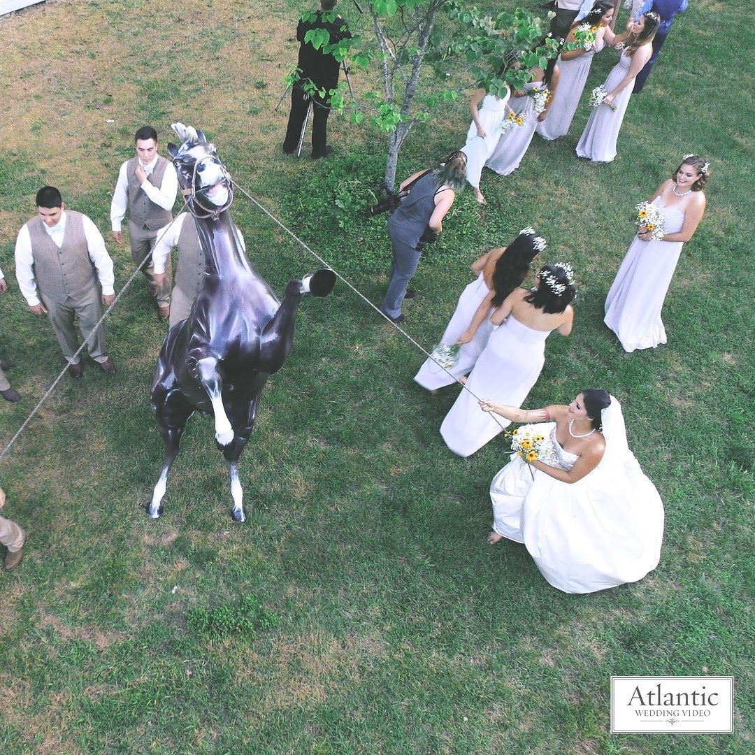 Beautiful Aerial Shot Captured By Atlantic Wedding Videos Drone Video Romantic Awv Atlanticweddingvideo