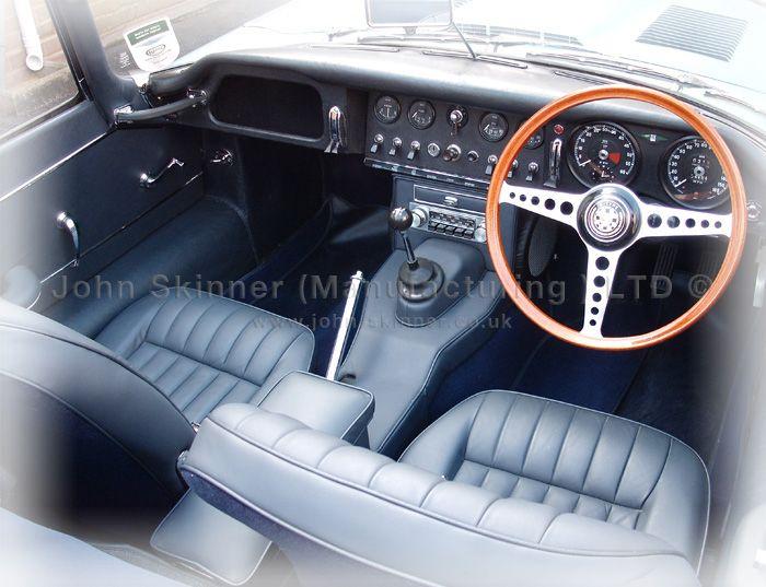 E Type OTS S1 4 2ltr - Front Seat Cover Kit & Centre Console