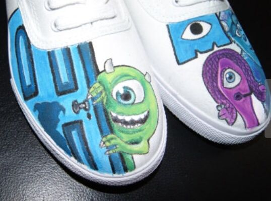Custom Hand Painted Toddler Toy Story Converse Chucks | Baby