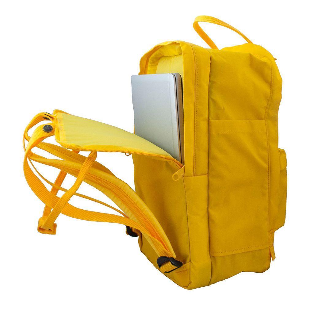 kanken laptop 15 orange