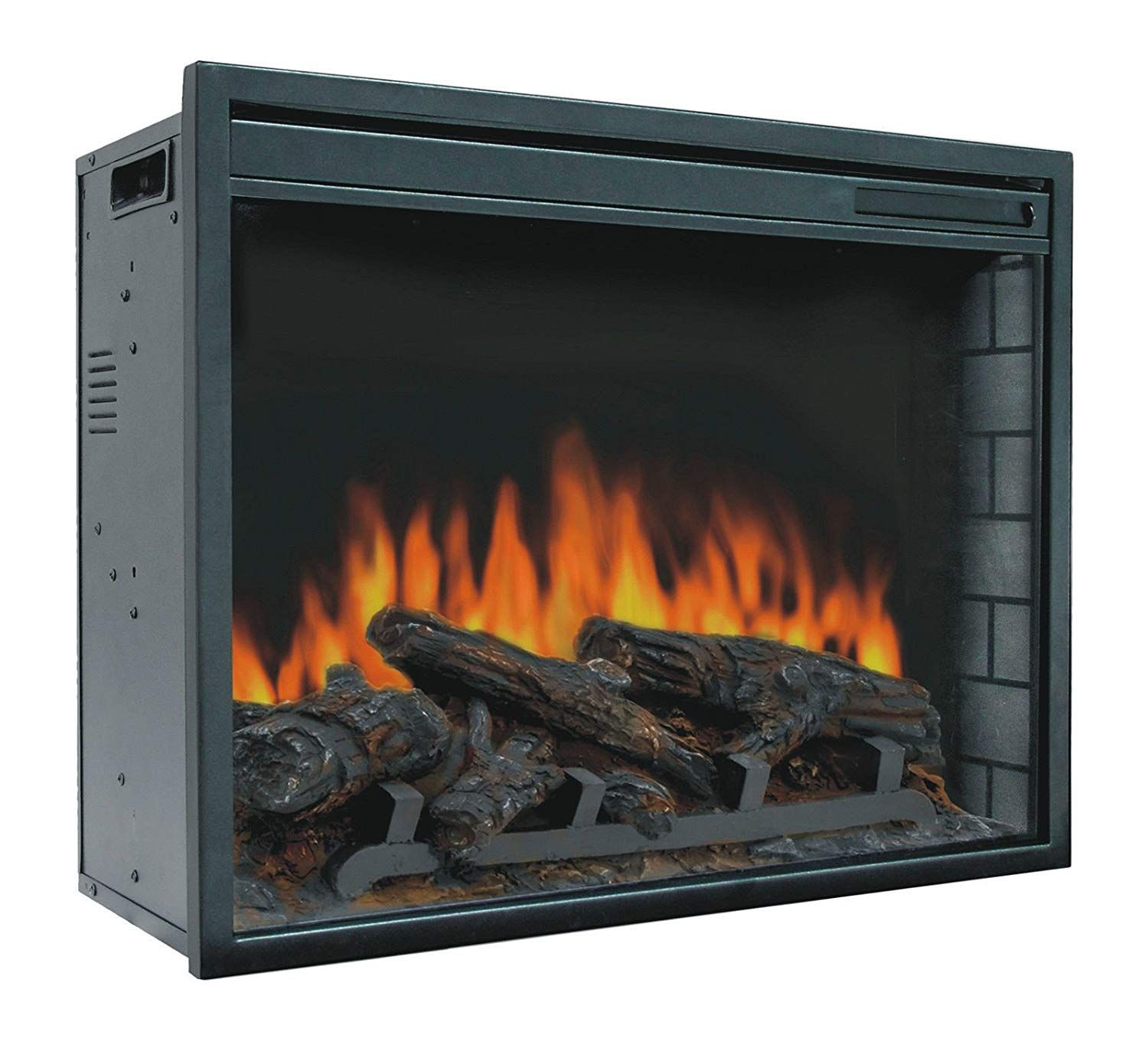 Amazon Com Fireplaces New 23 Electric Firebox Insert With Fan