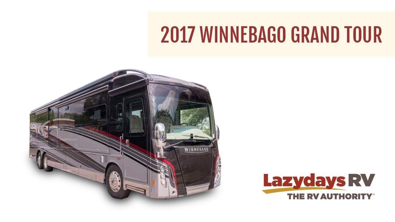 Take a video tour of the 2017 Winnebago Grand Tour, a
