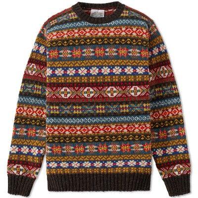 Jamieson's of Shetland Fair Isle sweater. | Sartorial Splendor ...