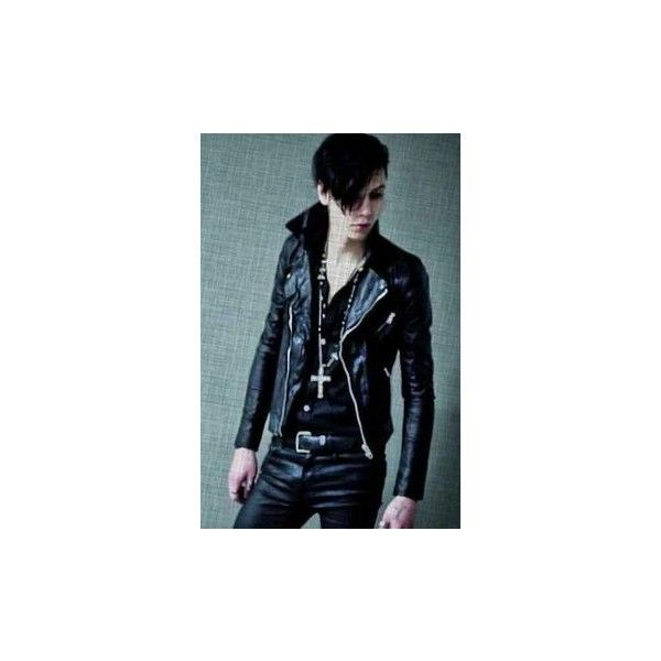 Andy Biersack ❤ liked on Polyvore featuring accessories, black veil brides, bvb, andy biersack, people and bands