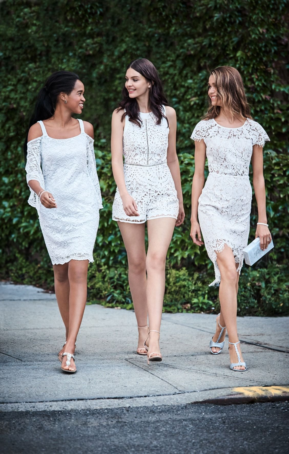 f70587ea3c0c Little white dresses for every wedding event! Shop your perfect dress at David's  Bridal