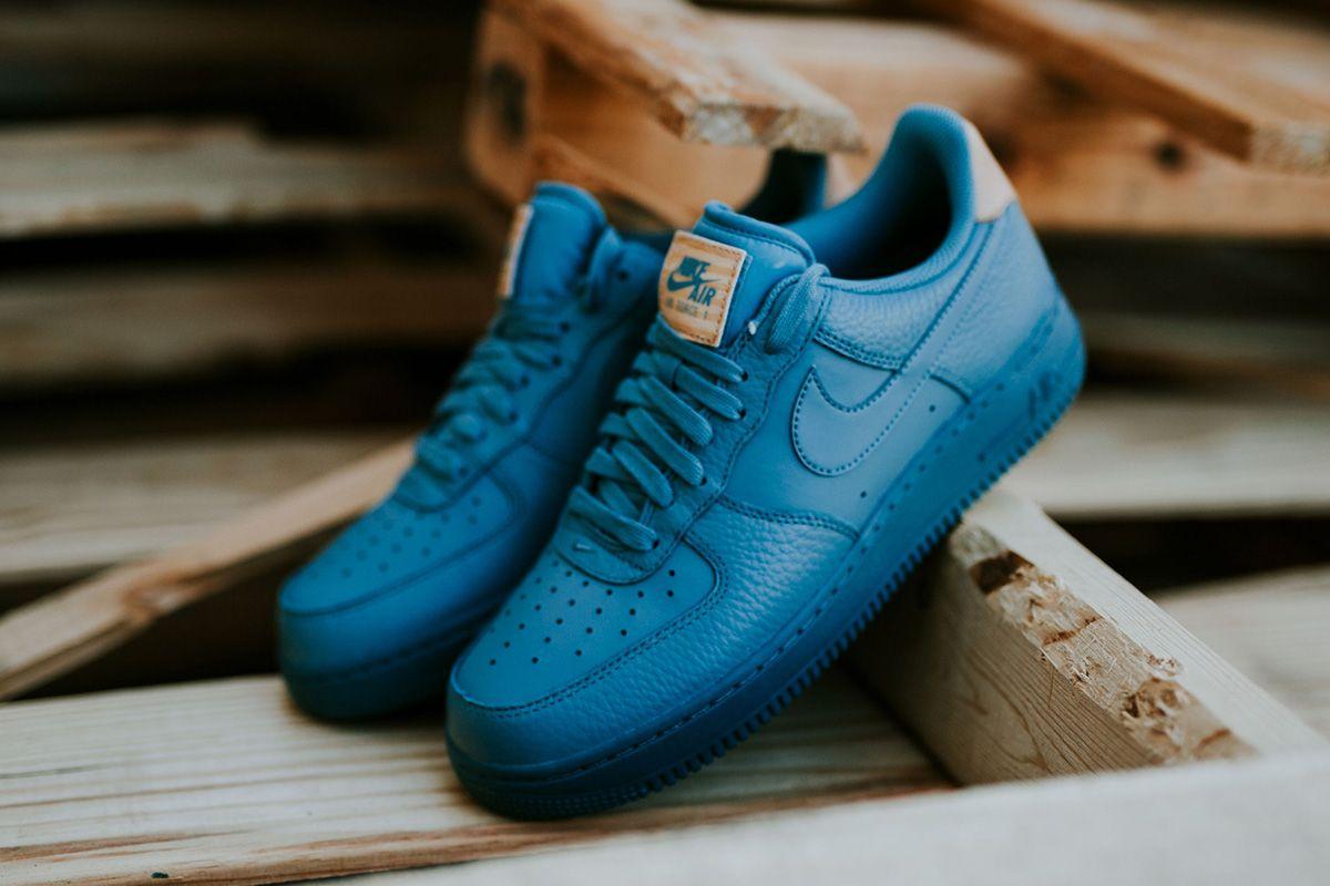 Nike Air Force 1 07 LV8 Shoes Smokey Blue