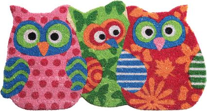 Fußmatte Owl Sisters