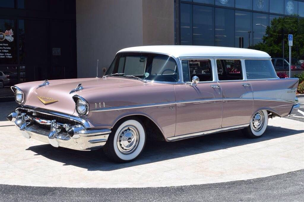 1957 chevrolet belair station wagon stock color bel for Station wagon coloring pages