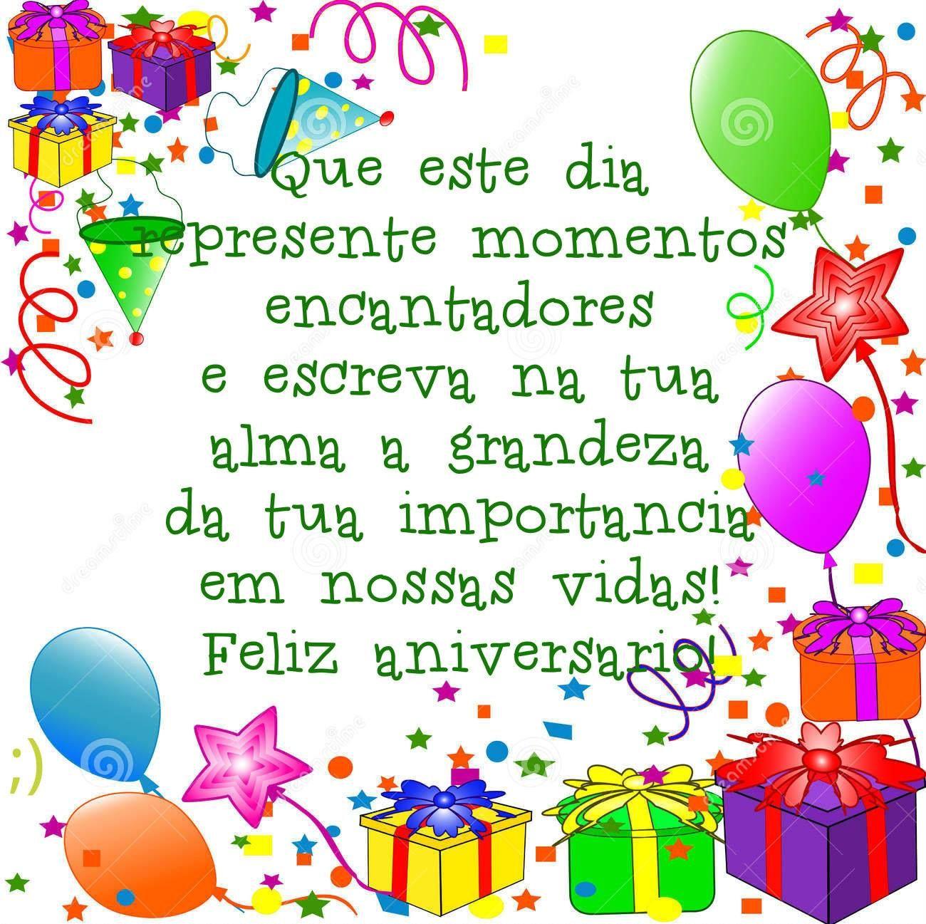 Lindos Recados De Aniversário Felicidades Felizaniversario