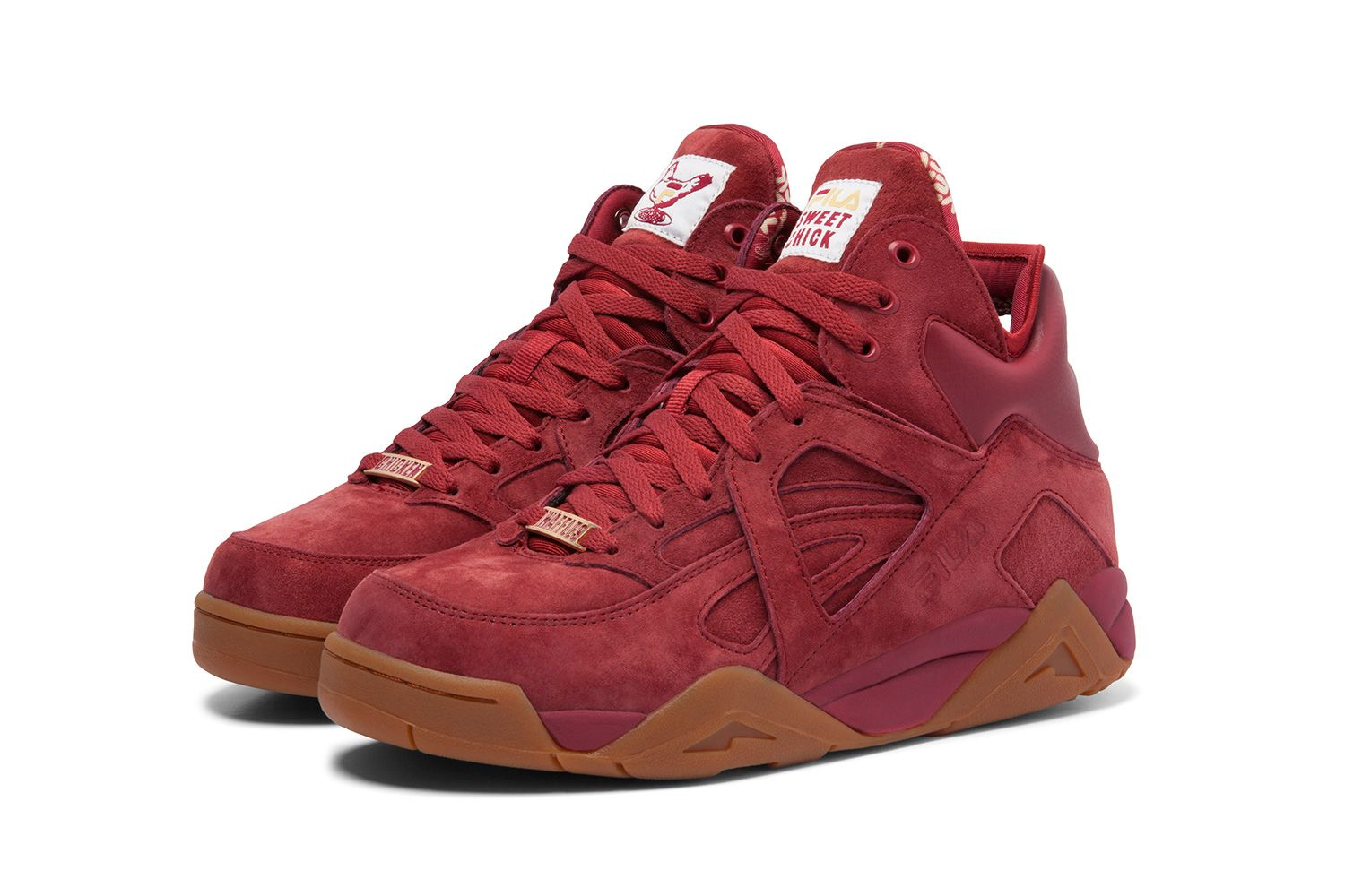 Sneaker Lickin' A Collaborates Fila Chick Finger For With Cage Sweet aSxqp1F