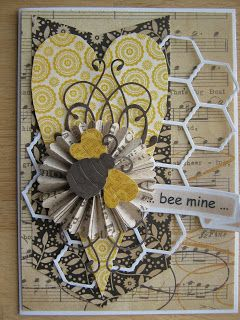 TanteScrap: Bee mine ... happy Valentines ...