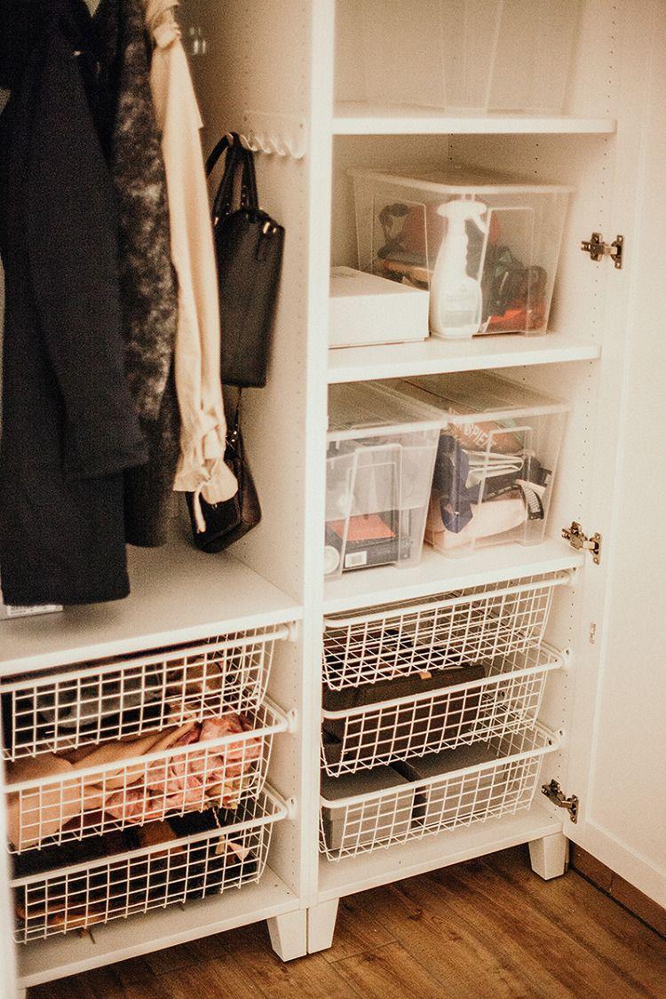 Ikea Platsa System Unsere Stauraumlosung Fur Den Flur Mit