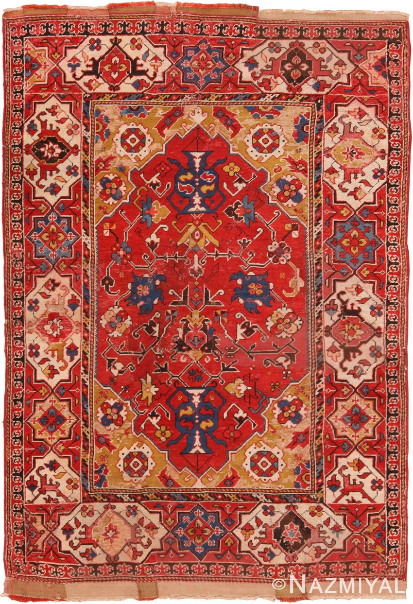 Antique 17th Century Transylvanian Rug 70178 By Nazmiyal Antique Carpets Antiques Rugs