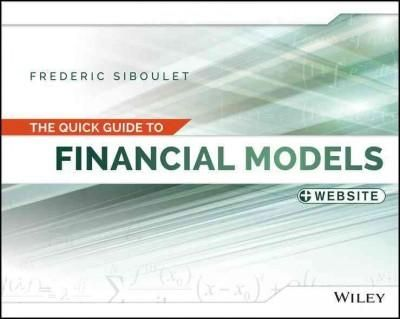The Quick Guide to Financial Models Financial Modeling Books - business modelling using spreadsheets