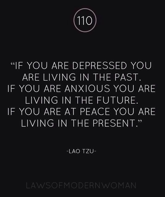 You Can T Live In The Present If You Are Still Living In The Past