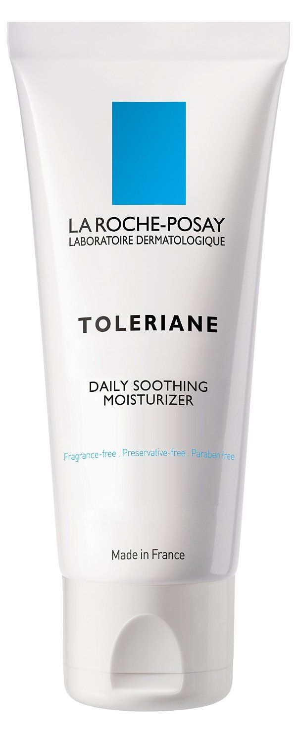 La Roche Posay Toleriane Daily Soothing Moisturizer For Sensitive Skin 1 35 Fl Moisturizer For Sensitive Skin Soothing Moisturizer Face Cream Sensitive Skin