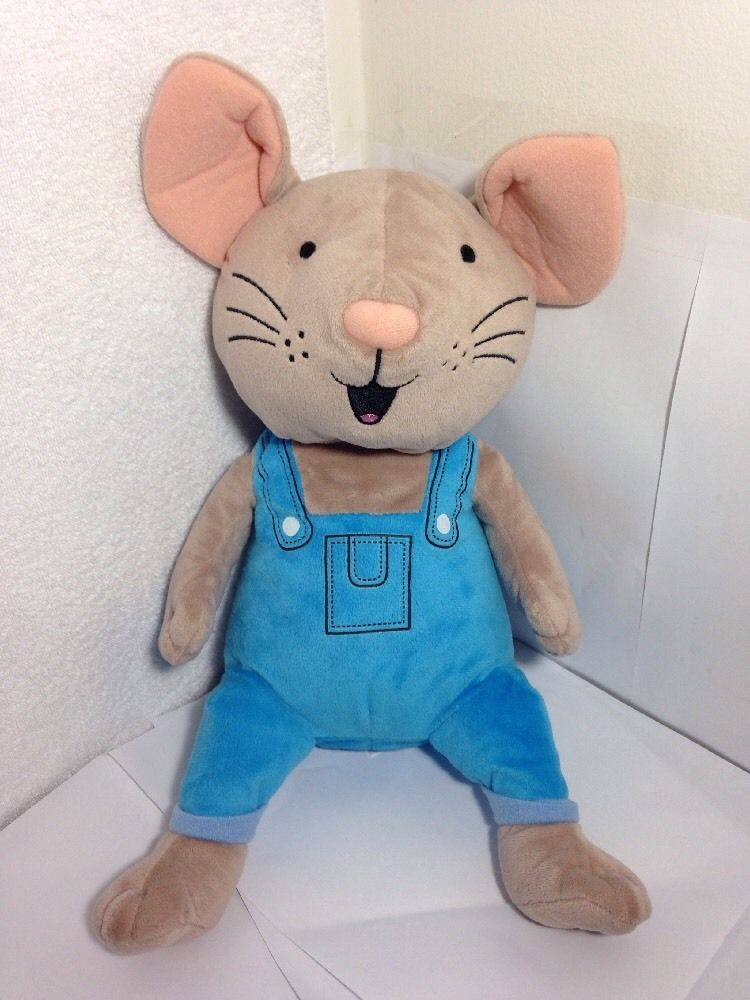 Kohls Cares If You Give A Mouse A Cookie Plush Blue Overalls Laura