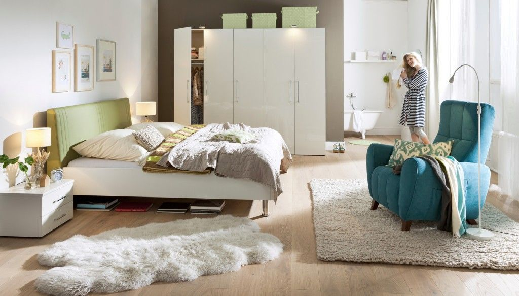 Schlafzimmer von Wellemöbel - Möbel Mit www.moebelmit.de | Greenery ...