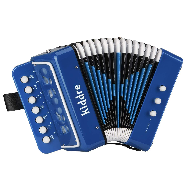Kiddire 10 Keys Kids Accordion, Toy Accordion Musical