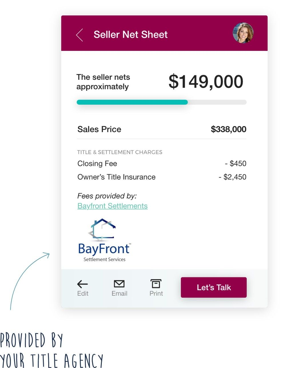 Responsive Mockup Title Insurance Closing Costs Let It Be