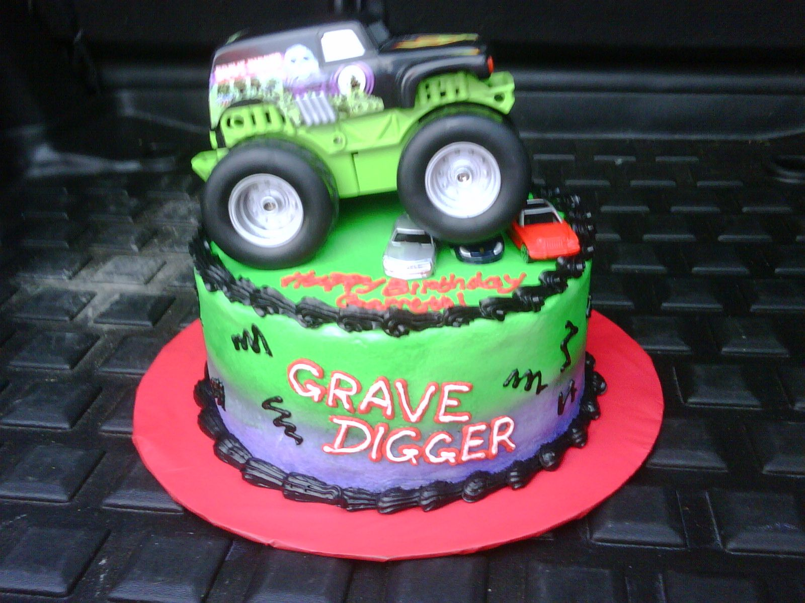 Monster Truck Cake Monster Jam Cake Birthday Cake Kids