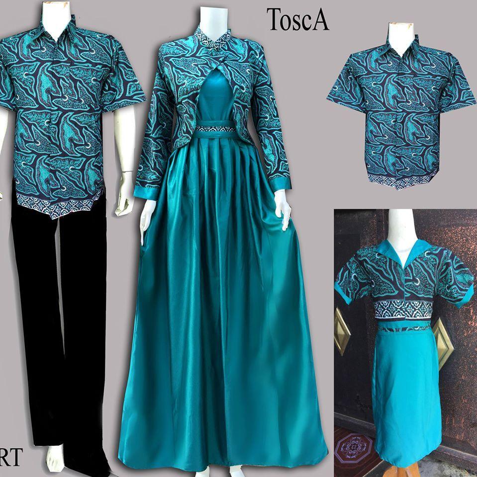 Desain Baju Gamis Batik Modern Remaja  Model pakaian muslim