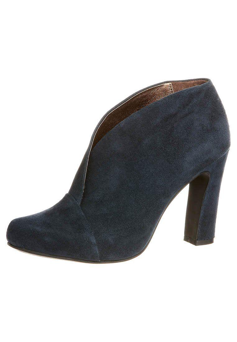 BLENDA - Ankelstøvler - blå