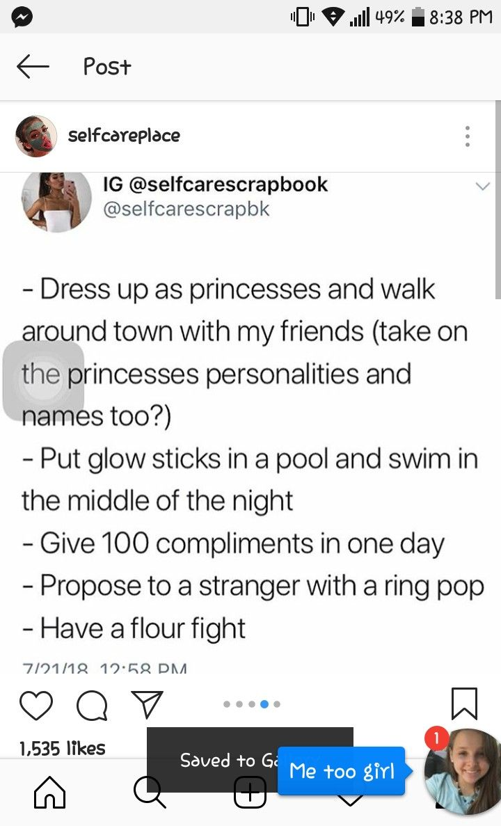 100 compliments to the girl