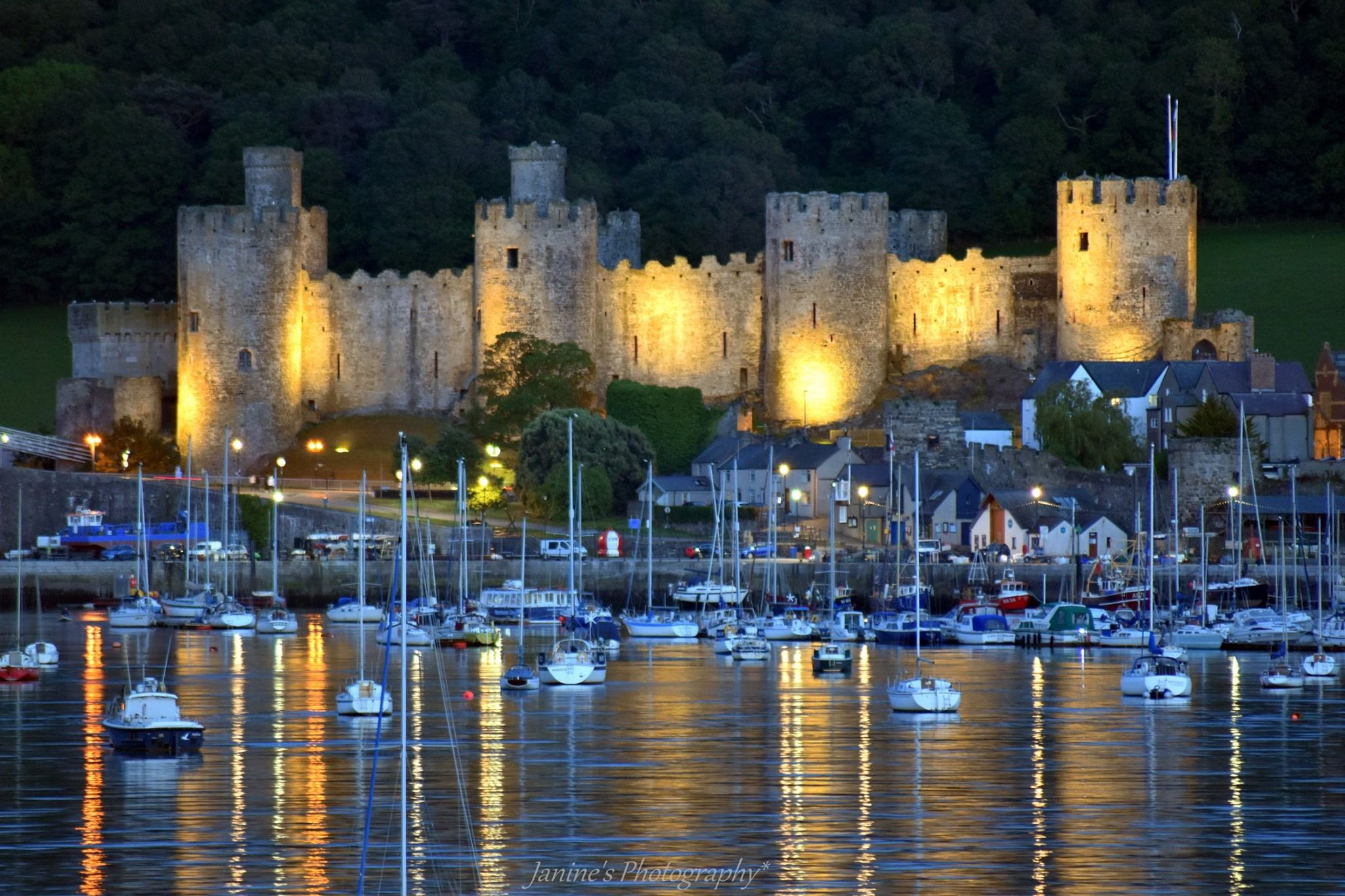 Castell Conwy / Conwy Castle. (With images) Conwy