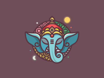 Ganesha - navamsa ru | Icons, Logos & Badges / Illustrations