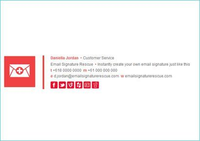 Professional Email Signature Design Make Your Own   Professional
